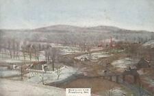 Frostburg MD * Birds Eye View in Snow  ca. 1908 * Allegany Co.