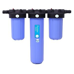 Pureau  3 H+  saltless water softener and filtration system. (3-4 bathroom home)