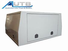 ALUMINIUM UTE CANOPY for DUAL CAB - BRAND NEW - POWDERCOAT - 1800x1800x860