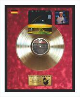 Blue System Walking On A Rainbow Goldene Schallplatte im Rahmen