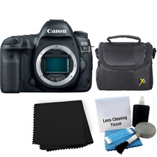 Canon EOS 5D Mark IV Digital SLR Camera Body Starter Bundle