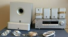 New listing Yamaha surround sound system-Tuner,Sub-Woofer,C enter Speaker,4 Wall Speakers