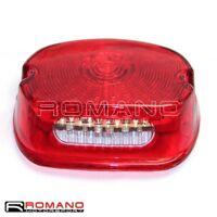 Rear Red LED Brake Running Light Taillght For Harley Sportster XL Softail FLST