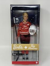 Mattel TIM HORTONS Coffee Shop Canada HOCKEY BARBIE Doll NEW IN BOX Sold Out!