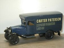 "Ford Model A Van ""Carter Paterson"" Motorkits England 1:43? *40636"