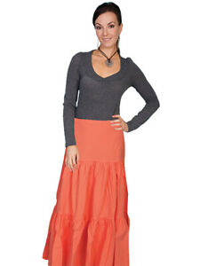 Scully Cantina Cowgirl Tiered Skirt PSL-077