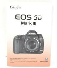 Canon EOS 5D Mark III Camera Instruction Manual User's Guide SPANISH LNC (435)