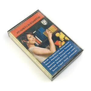 First Commerical Audio Tape Cassette PhilipsDemonstration Musicassette CD 001