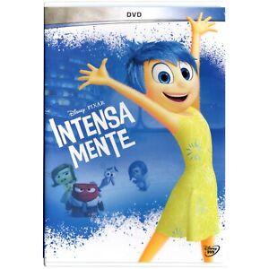 Disney Intensa Mente DVD Región 1 y 4 Español Latino Inglés