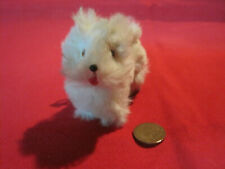 Vintage furry dog for bisque or other French German fashion doll, Germany