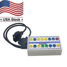 OBDII Protocol Detector&Break Out Box Tester Diagnostic Scanner OBD Connector US