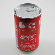"""33cl Coca Cola Dose mit Inhalt, voll, ungeöffnet, unopend can Germany 1990 """"DFB"""""""