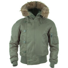 N2b ECW Army Snorkel Parka Flight Mens Jacket Olive