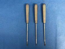 Set of Three Acufex Bone Rasps, Acufex 012705 / 07 / 09, 30 Day Warranty
