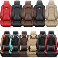 Waterproof Interior Thicken Leather Car Seat Cover Universal 5-Seats Protectors