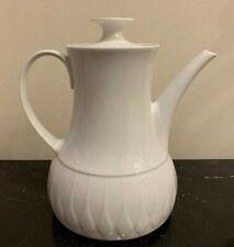 "Thomas Germany China Lanzette Pattern Five Cup Coffee 7"" H"