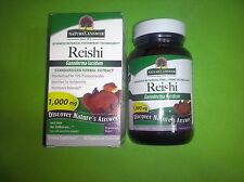 HONGO REISHI (ganoderma lucidum) 1.000 mg por dosis NATURE´S ANSWER