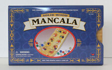 Mancala 1999 Cardinal Industries Solid Wood Tray Metal Tin Box Complete Game
