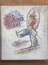 Mid Summer Night by Edgar N Russell Illustrated by Bruno Frost Conrad Press 1950