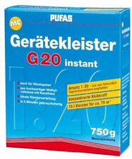 Pufas MC Gerätekleister G20 instant 750g - Kleister Tapeziergerät Tapeten
