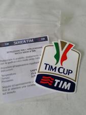 Juventus Milan Inter Toppa Patch Badge x maglia calcio tg Tim Cup Bianco