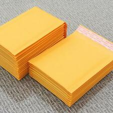 Yellow Kraft Bubble Mailers Padded Envelope Shipping Bags Seal Self N0T6