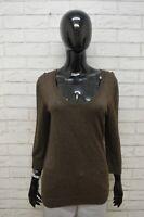 Cardigan Tommy Hilfiger Donna Taglia L Maglione Pullover Sweater Woman Lana