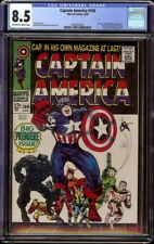 Captain America # 100 CGC 8.5 OW/W (Marvel, 1968) 1st issue in series