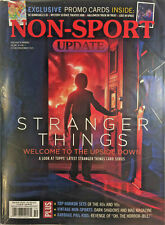 October/Nov 2019 Beckett Non Sport Update Price Guide Magazine Stranger Things