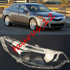 Right Side transparent Headlight Cover + Glue Replace For Acura TSX 2009-2013-JW