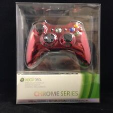 Red Chrome Wireless Controller [Chrome Series] (Xbox 360) BRAND NEW