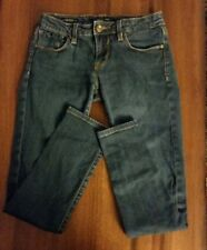 Women's VIGOSS STUDIO Dark Wash Stretch Skinny Jeans Sz 3/4 27P7068L