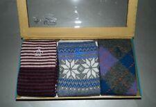 Original Penguin Men's Socks Argyle Snowflake Stripe Multi-Color Gift Box 10-13