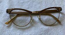 Vintage Artcraft Cat Eye Eyeglasses 4-5 1/4 Aluminum Usa
