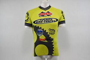 Verge V Gear Yucaipa Bike Men's S/S Cycling Jersey, Grn/Yel, 3/4, M, Brand New