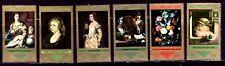 SELLOS PINTURA ALEMANIA DDR 1973 1580/85 RUBENS/TIZIANO/DOMENICO....6v.