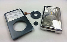 new grey faceplate housing case cover black clickwheel fr iPod 6th classic 160gb
