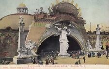ILLUST POST CARD CO POSTCARD ENTRANCE TO DREAMLAND, CONEY ISLAND NEW YORK