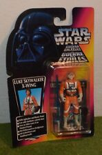 Star Wars cardées Power of the Force Orange/carte rouge Luke Skywalker X-Wing Pilot