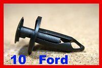 for Ford 10 bumper fender fascia panel cover shield plastic fastener clips