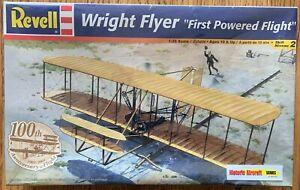 "WRIGHT FLYER ""FIRST POWERED FLIGHT"" REVELL 1:39 10+ SKILL LEVEL 2 2004 ~"
