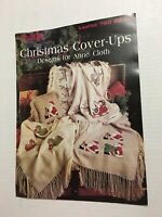 Leisure Arts 760 Leaflet Christmas Cover-Ups Cross Stitch Chart Pattern