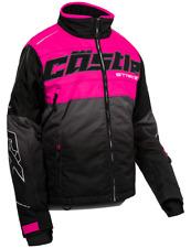 Castle X Women's Strike G3 Jacket Pink Glo/Black S-2XL Ladies Snowmobile Coat