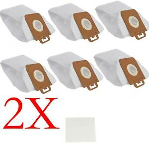 12X Synthetic Dust Bags For Nilfisk Power Special PW10 PW20 P30 P40 P12 Vacuum