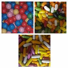 Bubblegum Balls Jellybeans Liquorice Comfits Machine Refils (100g, 200g or 500g)