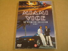 2-DISC DVD / MIAMI VICE- THE DEFINITIVE COLLECTION - VOLUME 1