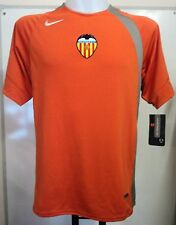 VALENCIA S/S ORANGE TRAINING SHIRT BY NIKE SIZE ADULTS XL BRAND NEW WITH TAGS