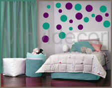 216 POLKA DOTS VINYL DECAL WALL ART STICKERS CIRCLE  tv