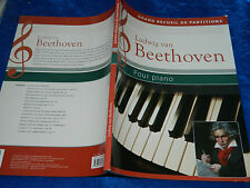 Grand recueil de partitions Beethoven pour PIANO wolfgang FLÖDL sheet music