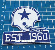Dallas Cowboys 60th Seasons Anniversary Logo Patch NFL Football Superbowl sew on